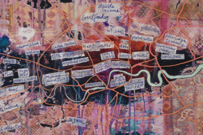 New tapestry by Grayson Perry: 'Large Expensive Abstract Painting'