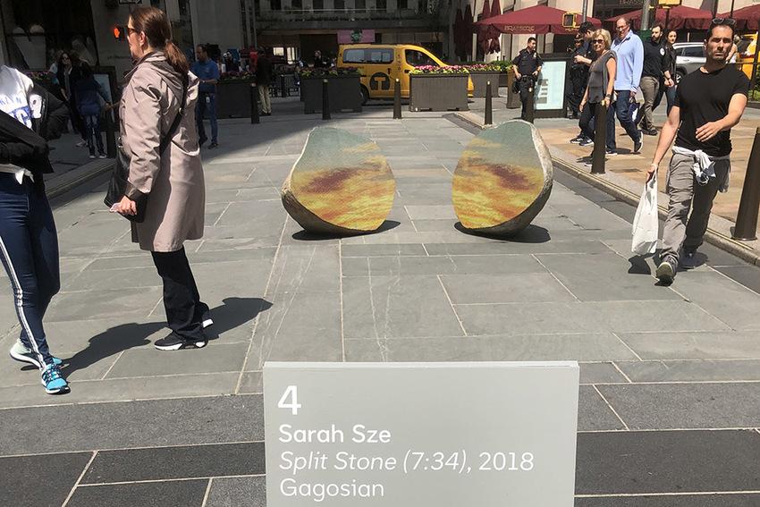 Split Stone (7:34) by Sarah Sze