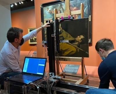 Recording Velázquez at the Musée des Beaux-Arts in Orléans