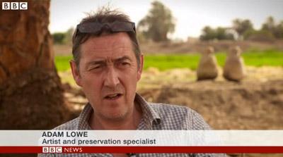 BBC News: Inside replica Tutankhamun tomb near Valley of the Kings