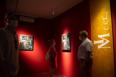 The Lost Paintings on show in Illegio, Italy