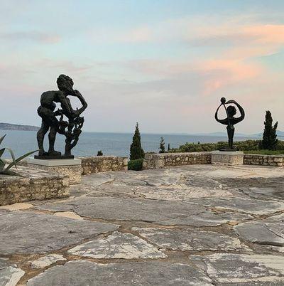 Wandering Odysseus returns to Corfu