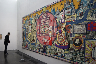 Grayson Perry's works at the Kiasma Museum of Contemporary Art