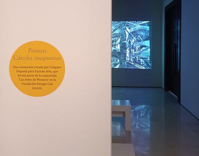 Piranesi's <i>Carceri d'Invenzione</i> video on show at Museo Carmen Thyssen, Malaga