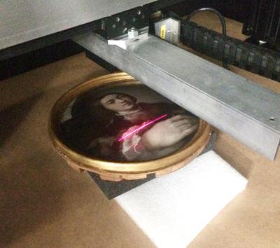 Recording Parmigianino's self-portrait in Vienna