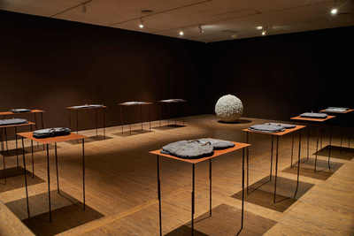 <i>The Sphere of Things to Come</i> by Fernando Casasempere is on show at Casa de America