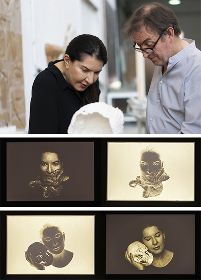 New Works by Marina Abramović presented by Wilde Gallery at Art Basel