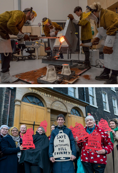 New successes for the church bell foundry at Whitechapel