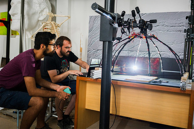 Developing new technologies for 3D scanning
