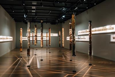 'Unconformities' en el Museo de la Acrópolis