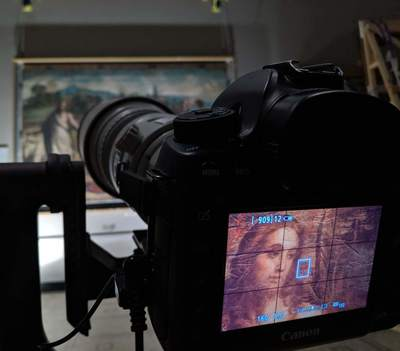 The recording of Raphael's Cartoons at the V&A