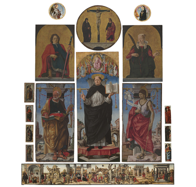 The Griffoni Altarpiece Returns to San Petronio