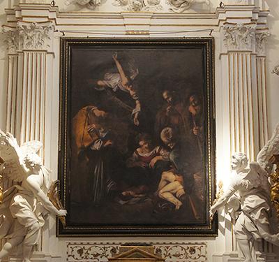Caravaggio's 'Nativity'