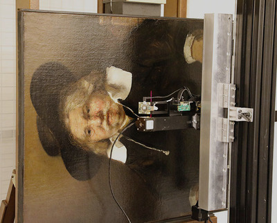 In collaboration with Océ: digitising and rematerialising Rembrandt's 'Portrait of an Elderly Man'