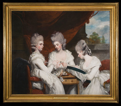 'The Ladies Waldegrave', Sir Joshua Reynolds (1780)