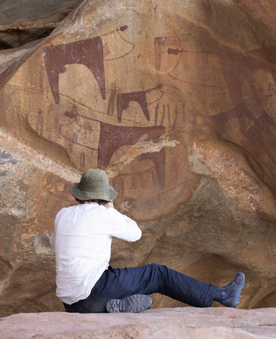 Recording the painted caves of Laas Geel