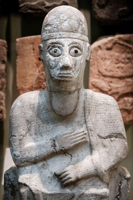 3D model of the statue of Idrimi