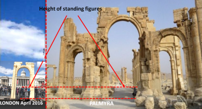The Arch of Triumph: Palmyra