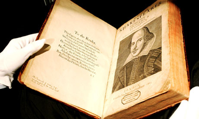 Let's save Shakespeare's folios