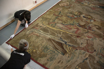 Factum and Colnaghi: recording a 16th century tapestry