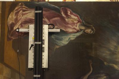 Recording El Greco's <i>Annunciation</i> with Fundación Banco Santander