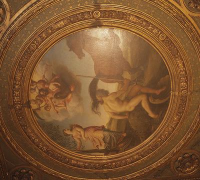 Francesco Salviati's ceiling at the Palazzo Grimani, Venice