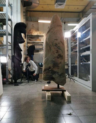 Bakor monoliths: new recording at the Israel Museum