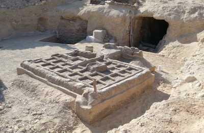 Facsimile of Djehuty funerary garden has been installed in Luxor
