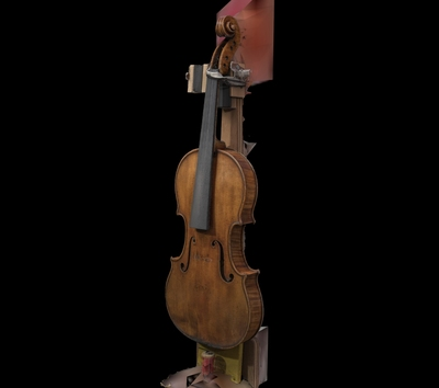 "Recording ""The Circle"" Stradivari with the Lucida 3D Laser Scanner"