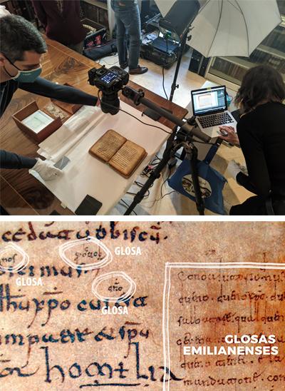 Recording the <i>Glosas Emilianenses</i> at the Real Academia de la Historia