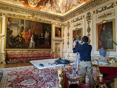 Recording Van Dyck at Wilton House