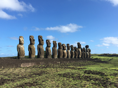New recording on Isla de Pascua