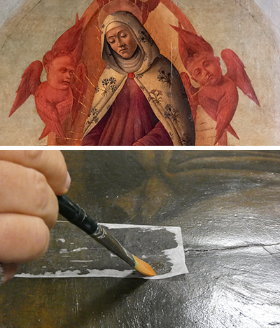 Preliminary research and diagnostics begin on <i>The Assumption of Mary and Saints</i>