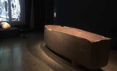 The facsimile of the tomb of Seti I at the Museum of Cultural History in Oslo