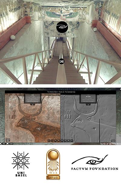 The 3D virtual model of the tomb of Seti I