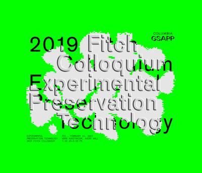 Fitch Colloqium 2019